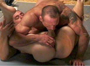 Wrestling Hunks #04, Scene #01