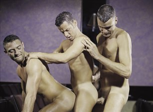 Buck Meadows, David Pierre, Jeremy Jordan, Tristan Paris