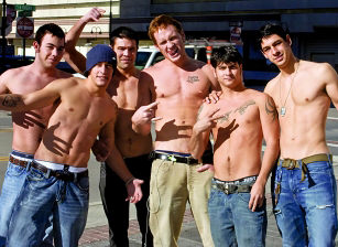 Tony Douglas, Colin Williams, Elijah Michaels, Kaleb Darko, Parker Perry, Darius Soli