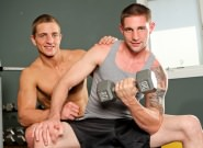 Gay Muscle Men : On The Set - Marcus Mojo -amp; Jay Rising - Marcus Mojo -amp; Jay Rising!