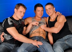 On The Set - Marcus Mojo, Trent Diesel & Sebastian Young