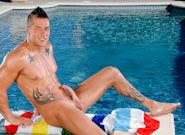 Gay Oral Sex : Poolside Pleasure - Rod Daily!