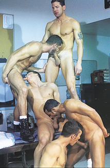 Marcus Iron, Karl Tenner, Nicholas Clay, Fernando Montana, Blake Harper Picture