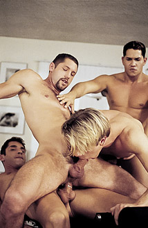 Gage Michaels, Jeremy Steel, Blake Harper, Alec Martinez Picture