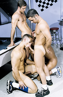 Ten Man Hazing Orgy - Anal Picture