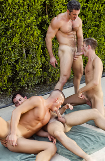 Jerek, Aaron Parker, Colton Ford, Travis Reed Picture