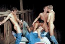 Thirteen Man Initiation Orgy picture 1