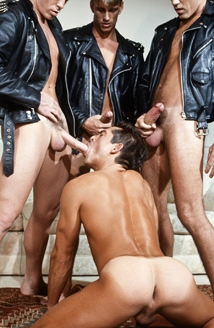 BJ Slater, Craig Hoffman, Marc Saber, Cody James Picture