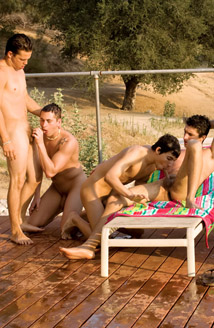 Ridge Michaels, David West, Nick Cross, Jared, Lee Stephens, Wade Wilder Picture
