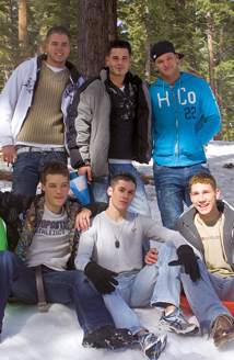 Dustin, Krys Perez, Blake Hunter, Karter James, Richie Sabatini, Giovanni Summers Picture