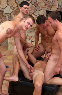 Christian Wilde, Zack Cook, Beaux, Patrick Rouge & Anthony Smith Picture