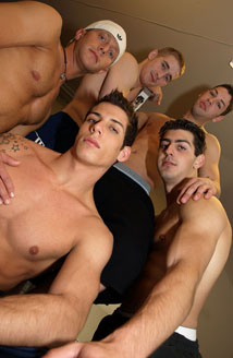Hot Gym Orgy Picture
