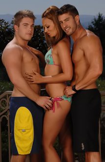 Cody Cummings, Crissy Moon & Marko Lebeau Picture